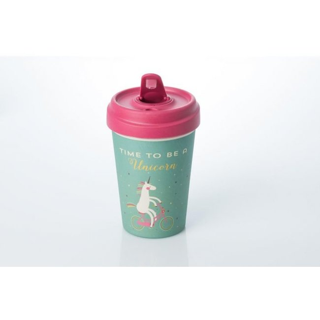 Chic.Mic Eco Bamboe Beker 'Time To Be A Unicorn'