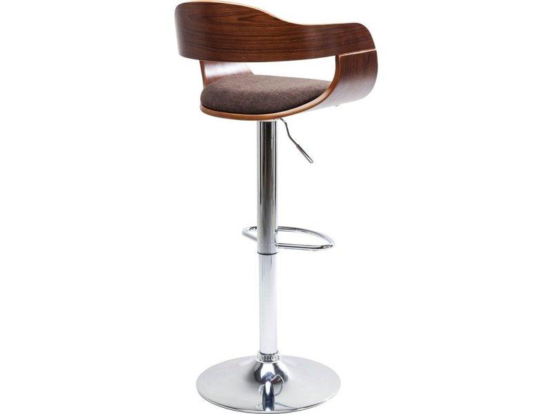 Karé Design Kare Design Adjustable Bar Stool Monaco Choco - Brown