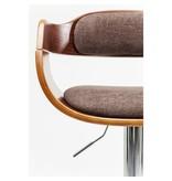 Karé Design Kare Design - Tabouret de Bar Monaco Choco - réglable
