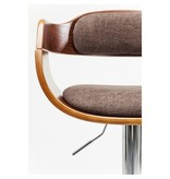 Karé Design Kare Design Tabouret de Bar Réglable Monaco Choco - Brun