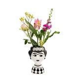 Kitsch Kitchen Kitsch Kitchen Vase Marisol - céramique - noir blanc