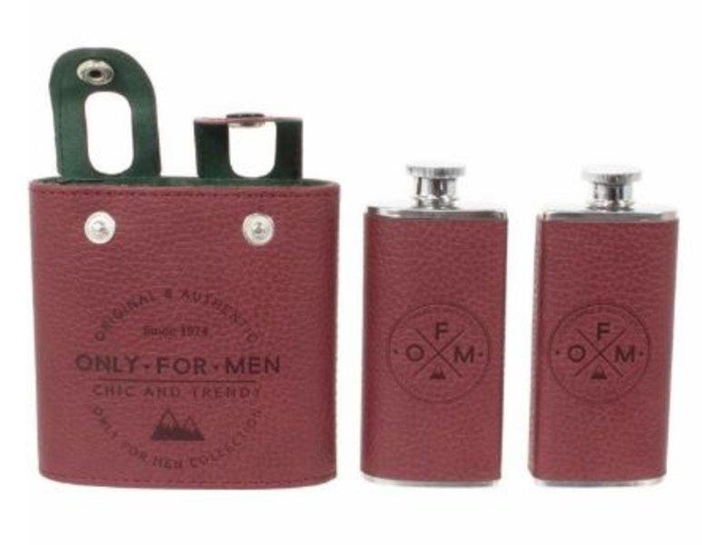 Bouteille de Poche - ensemble de 2 - only for men