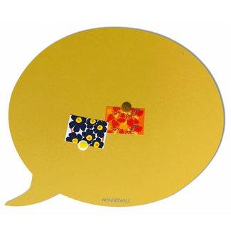 Wonderwall Magnetic Board Text Balloon (sandy yellow - large)
