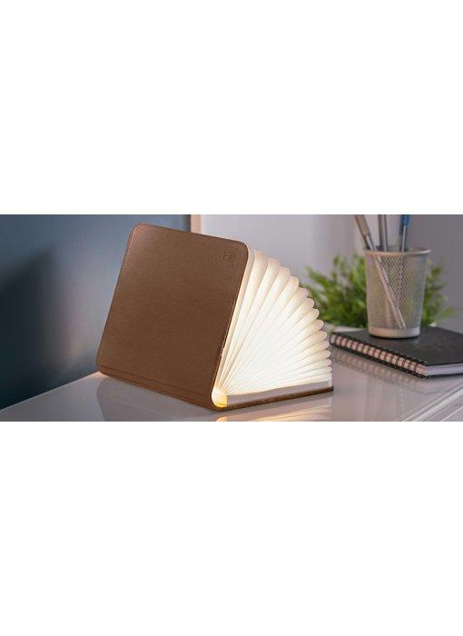 Smart Book Light - cuir brun - small