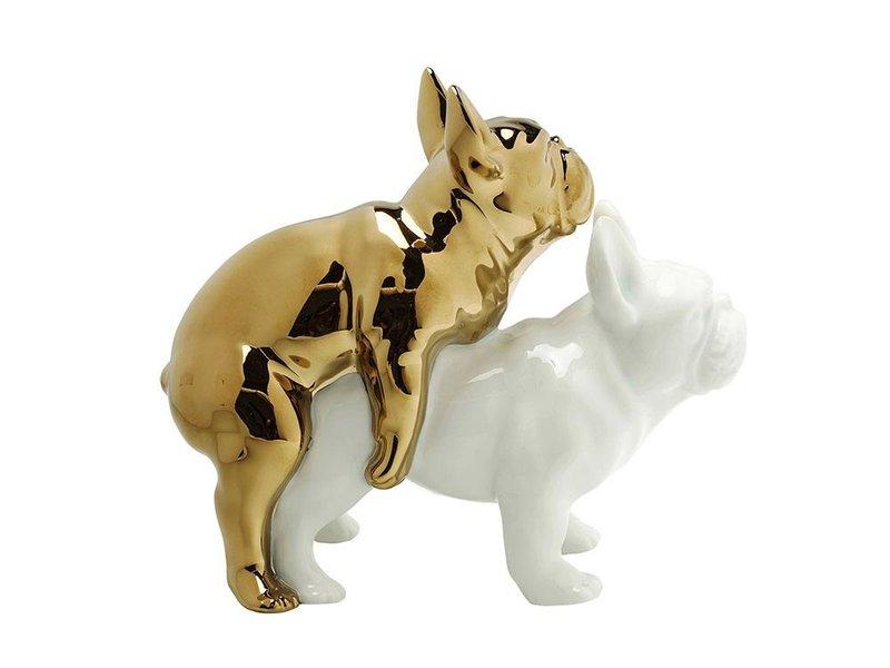 Karé Design Kare Design - Statue Love Dogs - porcelain