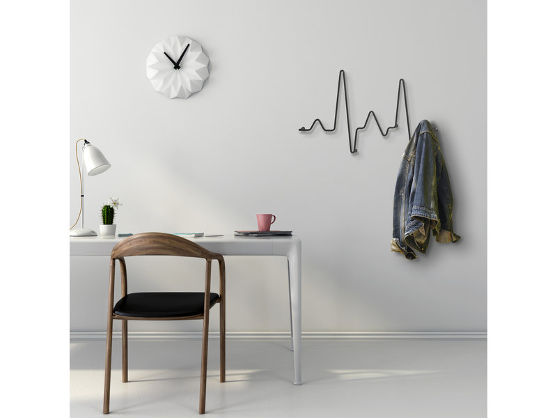 Pusher Wall Coat Rack Cardio Rack - metal - W 51 cm