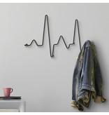 Porte-Manteau Mural Cardio - métal - L 51 cm
