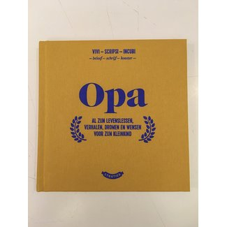 Stratier Little Book 'Opa' (Grandpa)