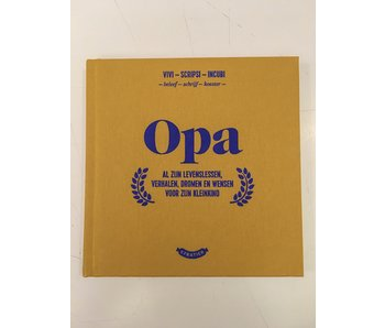 Little Book 'Opa' (Grandpa)