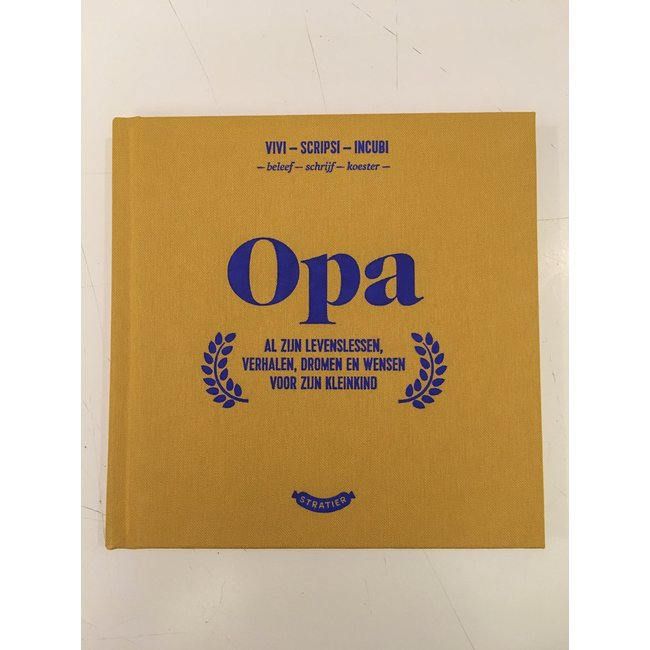 Wonder Years Booklet 'Opa'
