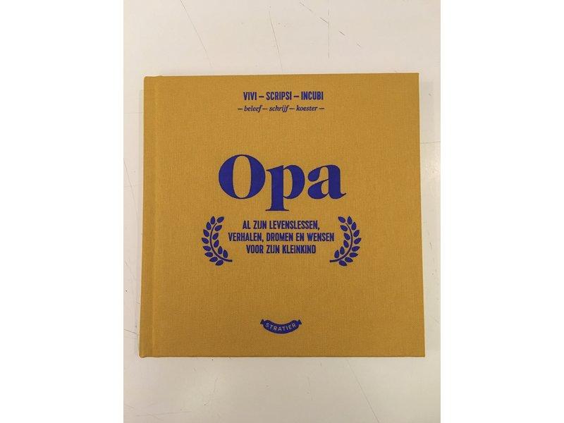 Stratier Little Book 'Opa' (Grandpa)
