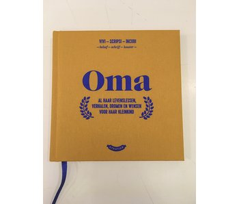 Little Book 'Oma' (grandmother)