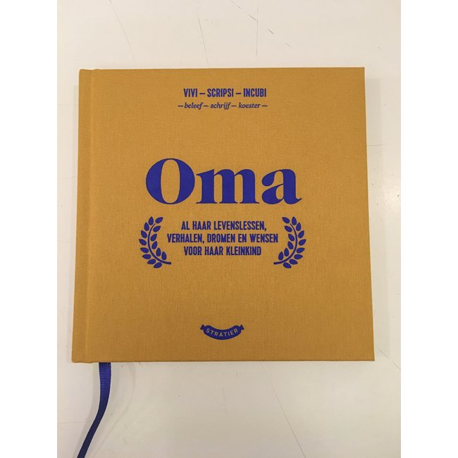 Stratier Wonder Years Booklet 'Oma'