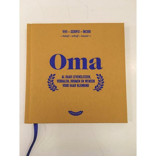 Stratier Wonderjaren Boekje 'Oma'