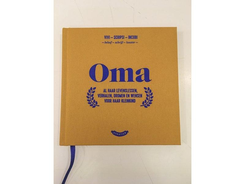 Stratier Petit Livre 'Oma' (grand-mère)