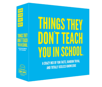 Party Game 'Things They Don't Teach You In School'