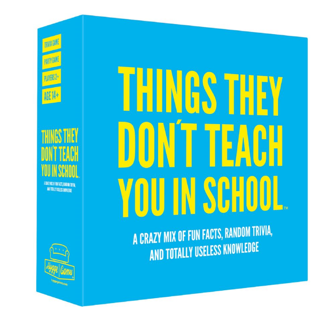 Jeu de Party - Things They Don't Teach You In School