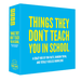 Hygge Games Jeu de Party - Things They Don't Teach You In School
