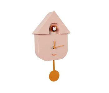 Cuckoo Clock 'Cuckoo House' - pink