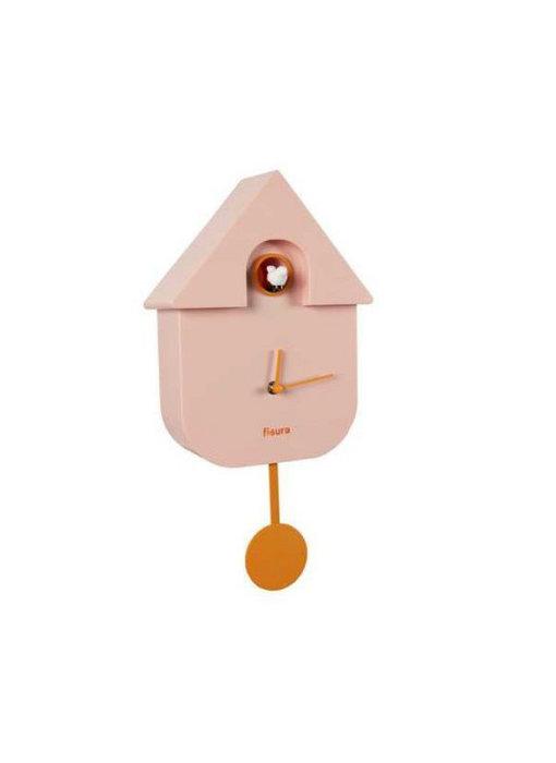Koekoeksklok Cuckoo House - roze