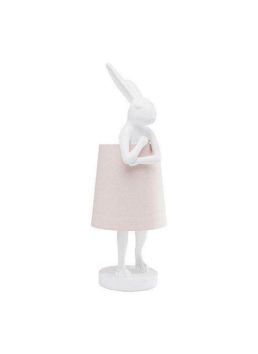 Table Lamp Animal Rabbit - white