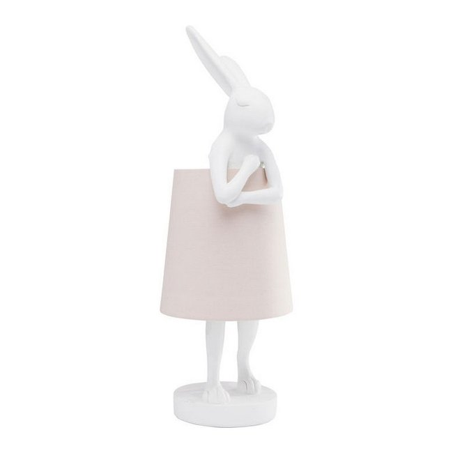 Karé Design Table Lamp Animal Rabbit - white