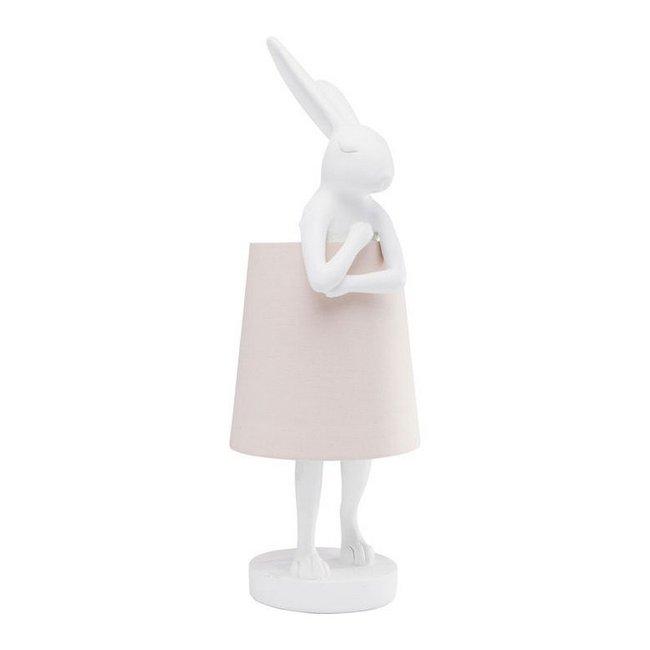 Tischlampe - Tierlampe Kaninchen - weiß
