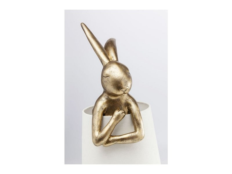 Karé Design Tafellamp Animal Konijn - goud