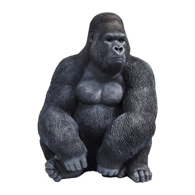 Statue Gorilla Monkey - XL - black