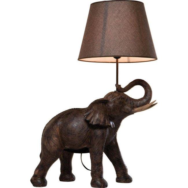 Tafellamp - Dierenlamp Olifant Safari