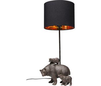 Lampe de Table - Famille des Ours