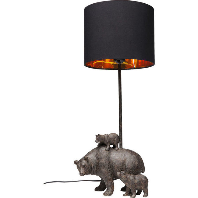Karé Design Lampe de Table - Famille des Ours