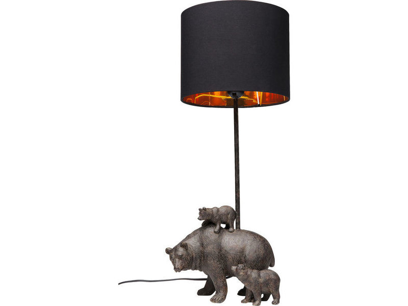 Karé Design Table Lamp - Bear Family