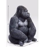 Karé Design Statue Singe Gorille - XL - noir