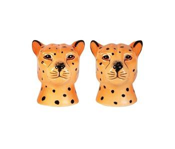 Salt and Pepper Set Leopard
