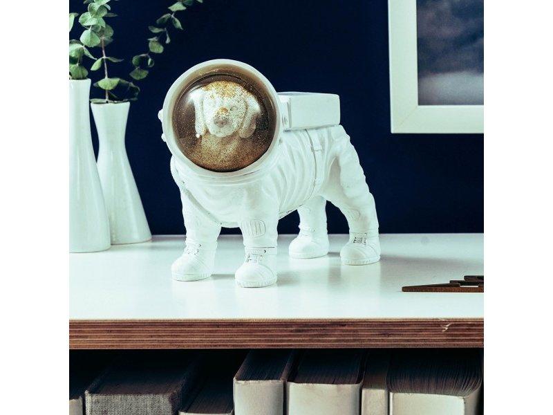 Donkey Luxury Dream Globe Space Dog - H 14.5 cm