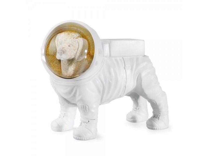 Donkey Luxe Droombol Space Dog - H 14.5 cm