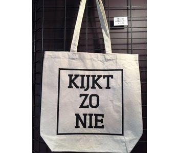 Tote Bag - Kijkt Zo Nie