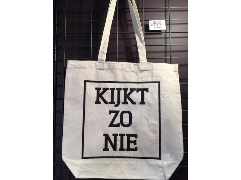 Urban Merch Tote Bag - Kijkt Zo Nie