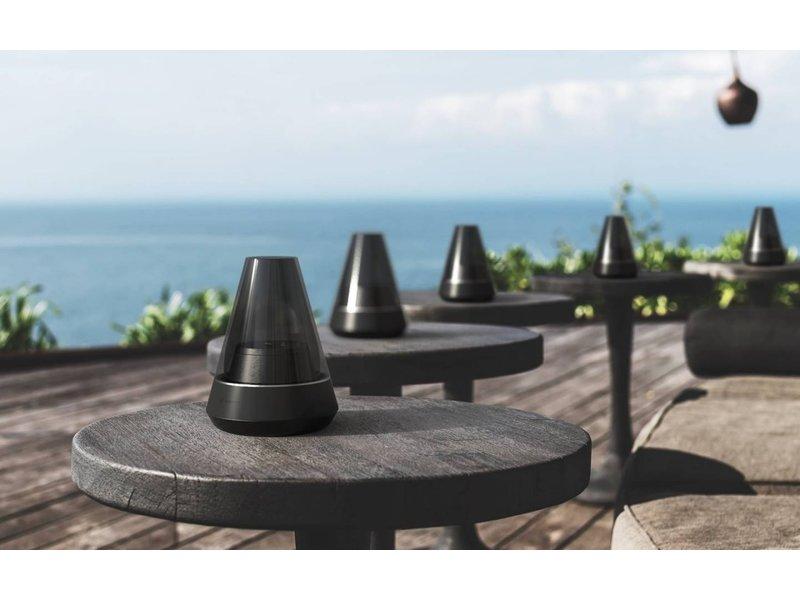 Kooduu Kooduu - Nordic Light Pro Black - Bluetooth Speaker & Oil Lamp in 1