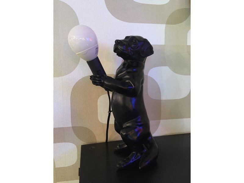 Lampe de Table - Chien - H 29 cm