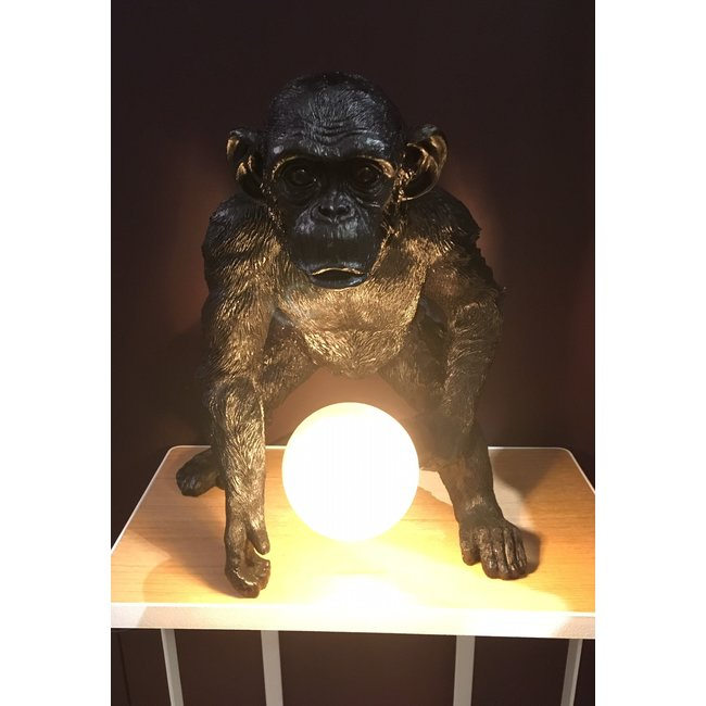 Tafellamp - Dierenlamp - Gebogen Aap