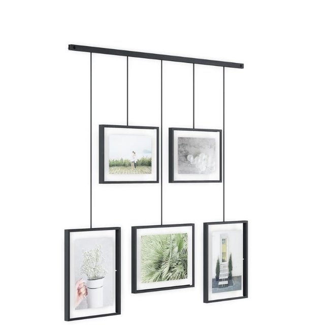 Umbra - Umbra Display Photo Exhibit 5 - noir- ensemble de 5
