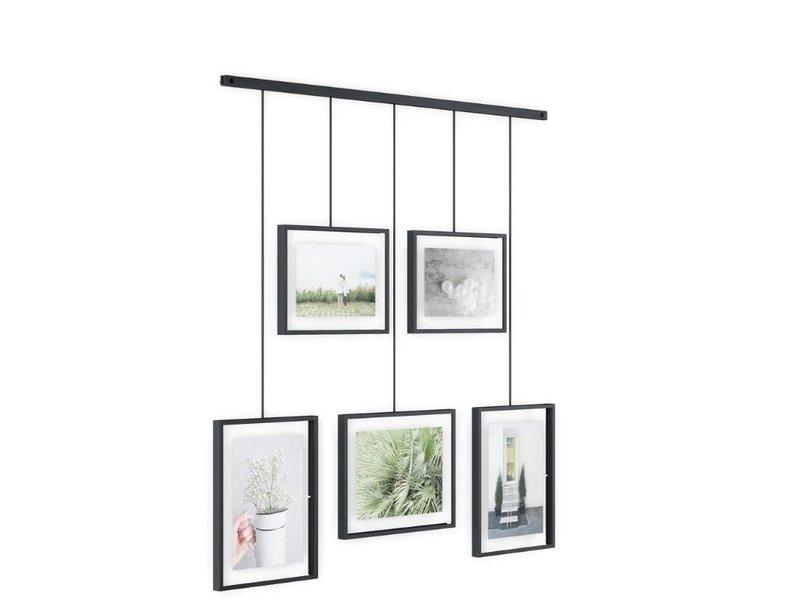 Umbra Umbra Photo Display - Photo Holder Exhibit - black