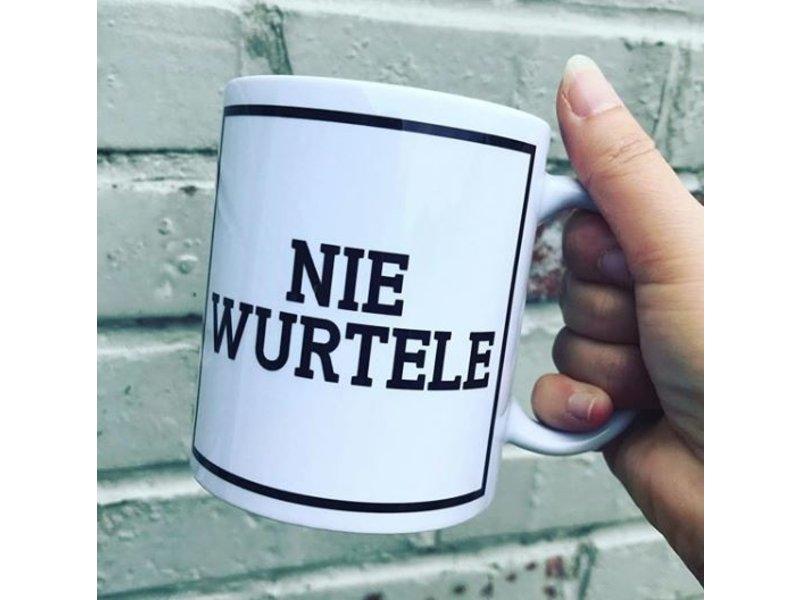 Urban Merch Tasse Nie Wurtele - dialecte Gantois