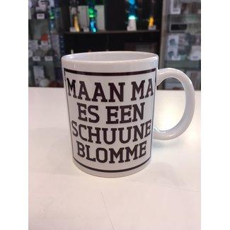 Urban Merch Tasse à Café  'Maan Ma Es Een Schuune Blomme'