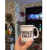 Urban Merch Mug Dwoaze Kalle - ghent dialect