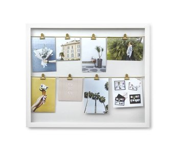 Photo Display Clipline - white