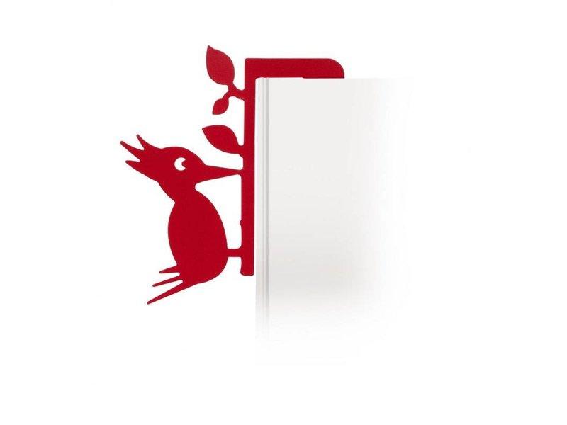 Invotis Bookmarker Bird Book Pecker