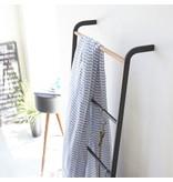 Yamazaki  Rek Ladder Hanger Tower - zwart